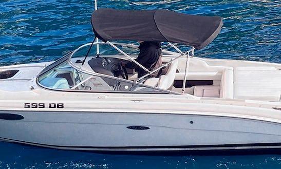 Deck Boat Rental In Dubrovnik