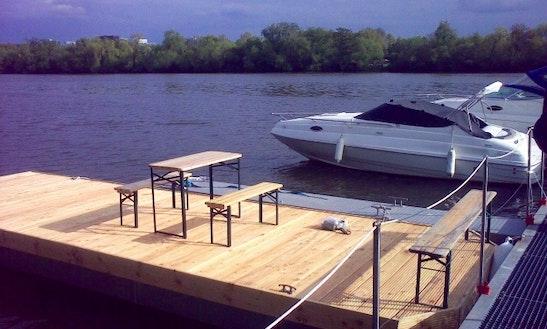 21' Maria Cuddy Cabin Boat Rental In Frankfurt Am Main
