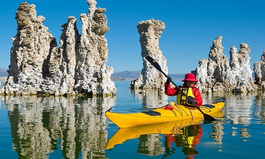 Rent A Solo Kayak On Mono Lake, In Coleville, California