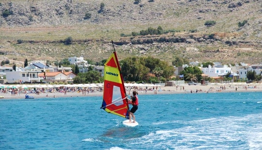Enjoy Windsurfing Courses In Rodos, Greece With A Friendly Instructor
