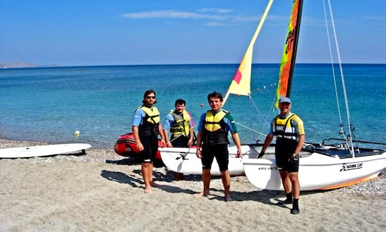 Hobie Cat Beach Catamaran Hire & Courses In Rodos