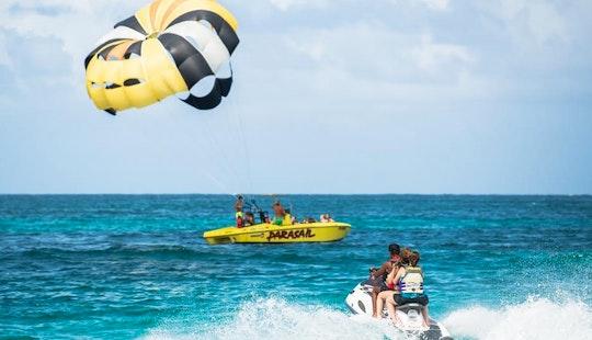 Parasailing In St. Maarten