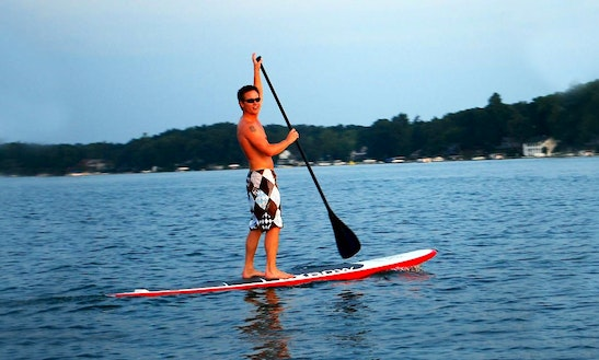 Stand Up Paddleboard Rental In Hot Springs Township