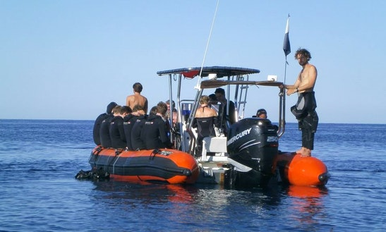 Boat Scuba Diving Trips & Training In Cargèse