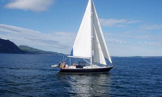 'mehalah' Sailing Monohull Charter In Deganwy