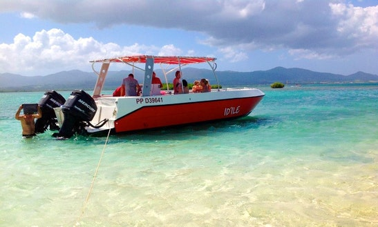 Power Catamaran Rental In Port-louis