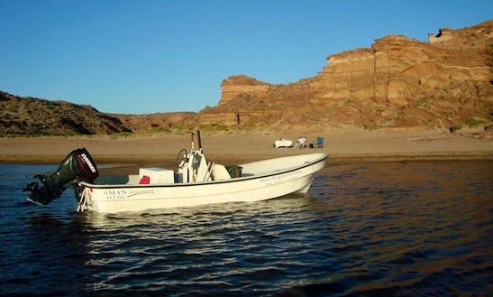 Jon Boat Guided Fly Fishing Trips In Neuquén