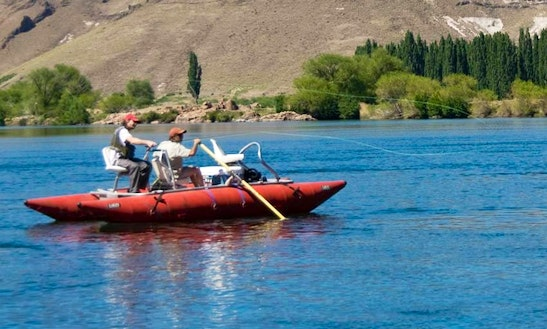 Raft Guided Fly Fishing Trips In Neuquén