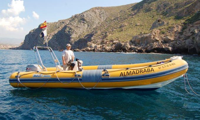 'Almadraba' Boat Diving Trips & Courses in Calabardina