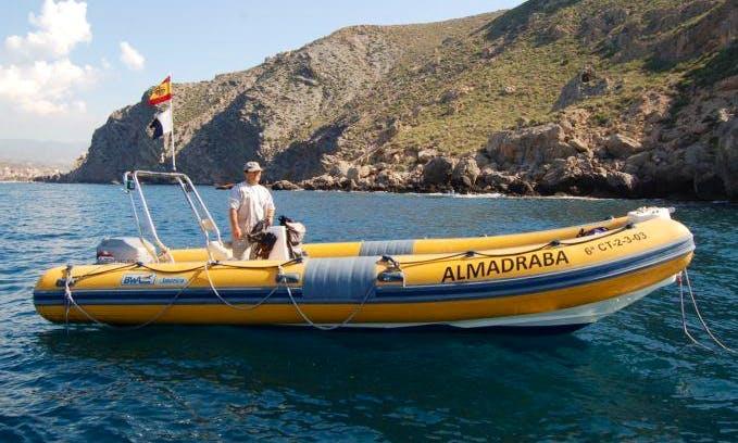'Almadraba' Boat Diving Trips & Courses in Calabardina