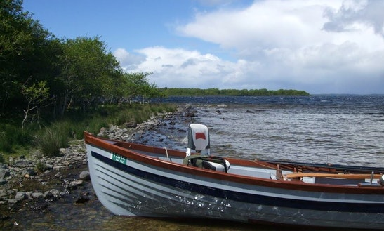 Bass Boat Fishing Trips In Oughterard, Ireland