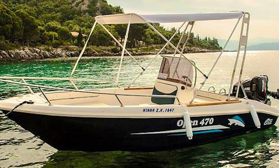 Rent Dany Sk 1647 Powerboat In Kerkira
