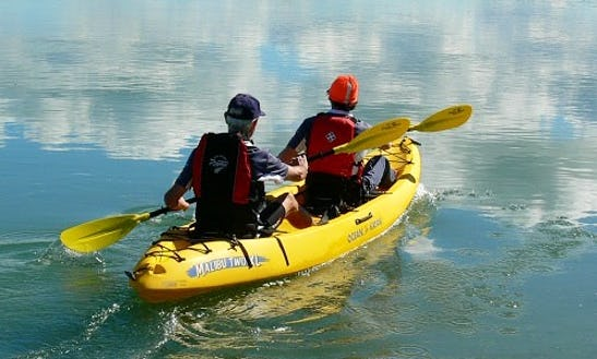 Double Kayak Rental In Upper Township