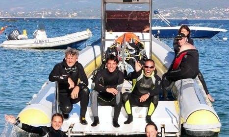 """24' RIB """"Le Manon"""" Diving Trips in Ajaccio, France"""