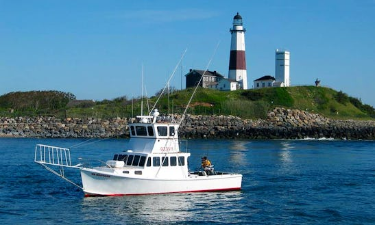 40ft Custom Downeaster Sportfisherman Boat Charter In Montauk, New York