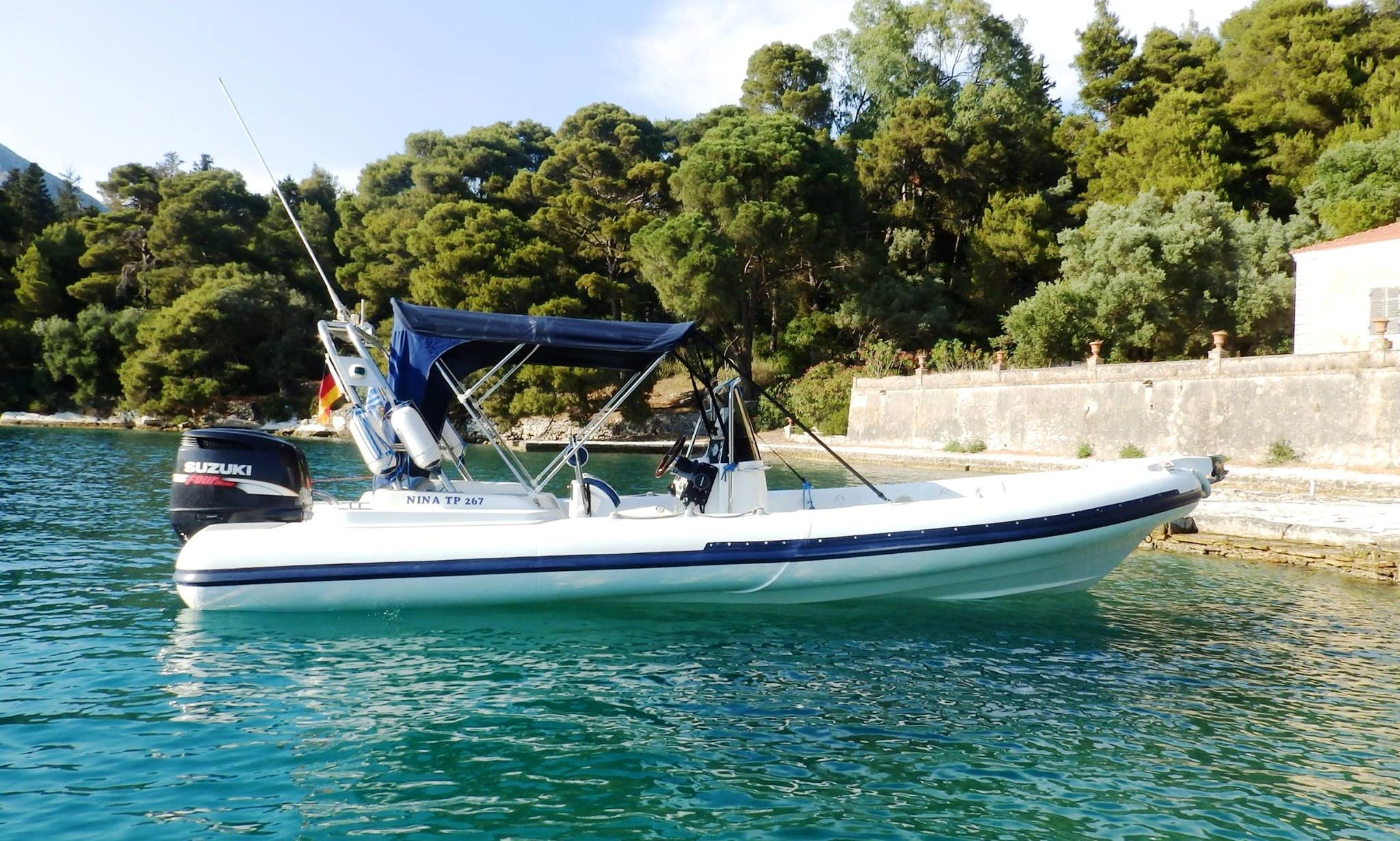 Explore Lefkada, Greece with this Winner RIB