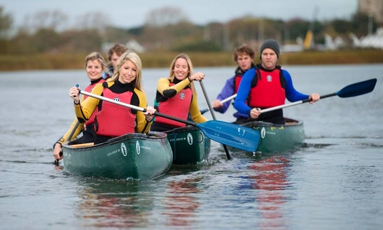 Learn Basic Canoe Paddling Skills In Bournemouth, United Kingdom