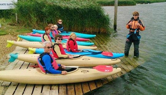 Learn To Paddle A Kayak In Bournemouth, United Kingdom