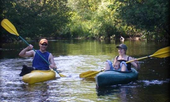 Explore Springdale Township, Michigan On A Kayak!