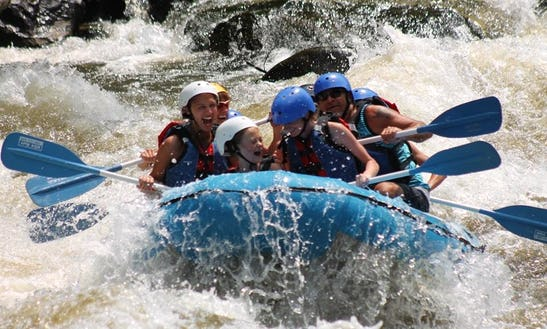 White Water Rafting On Upper Pigeon River