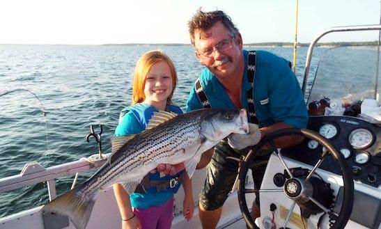 Guided Fishing Trips On Beautiful Lake Texoma