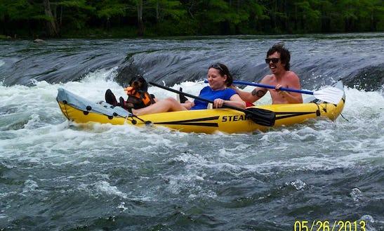 Kayaking Tour On Mountain Fork River