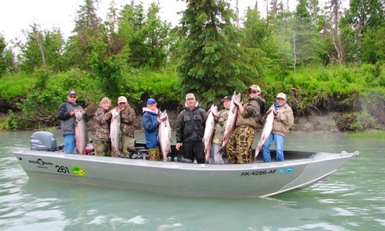 Experience Guiding Alaska Fishing Trips On The Kenai River!