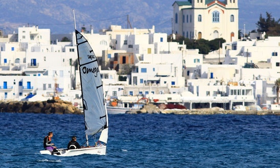 Omega 2 Dinghy Rental In Paros - Naoussa Sailing Team