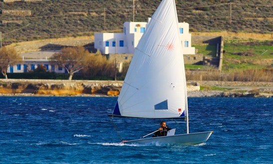 Laser Dinghy Rental In Paros - Naoussa Sailing Team