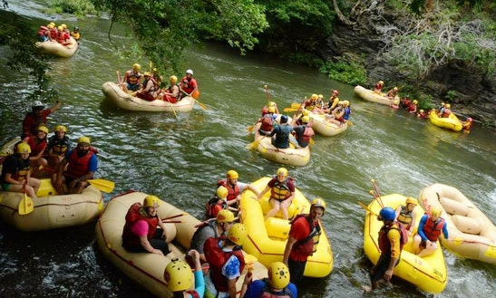 Guided White Water Rafting Trips In Guanacaste