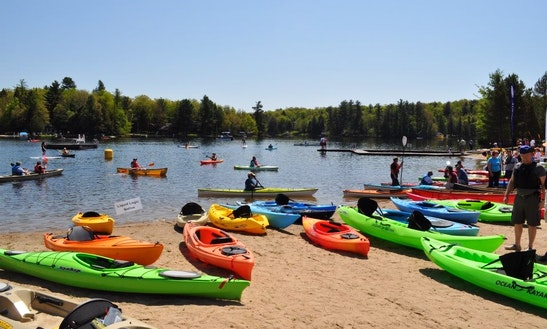Kid's Kayak Rental In Old Forge