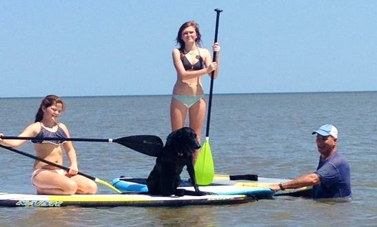 Stand Up Paddleboard Rental In Jekyll Island