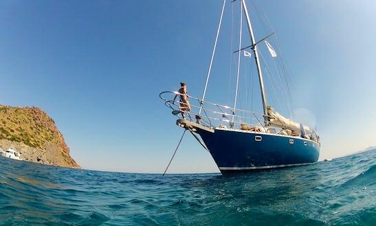 58' Sailing Yacht Cruise Along The Greek Coastline