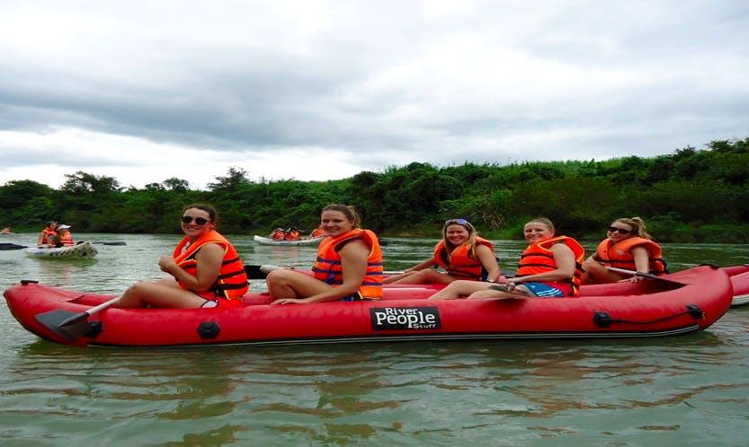Raft in Vietnam