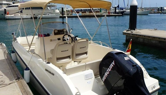 Rent The Quicksilver 555 Open Boat In La Rochelle