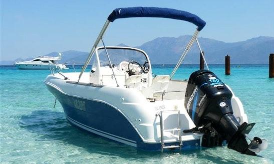Rent Quicksylver Commander 630 Motor Boat In La Rochelle