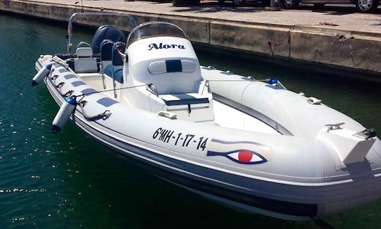 Rent This Ribeye 785 Inflatable Speedboat In Mahón
