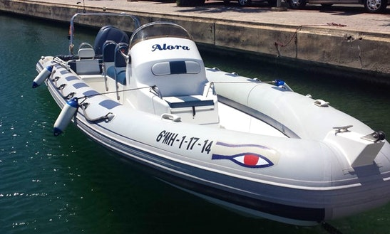Rent This Ribeye 785 Inflatable Speedboat In Mahón