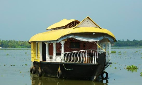 Rent This Two Bedroom Houseboat Exclusive For 4 Person In Alappuzha, India