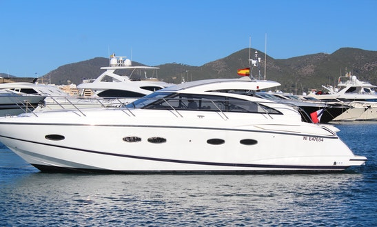 Princess V42 Motor Yacht Charter In Eivissa