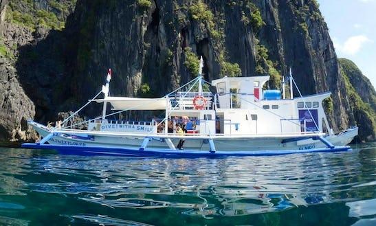 20 Pax Noa Diving Boat In El Nido