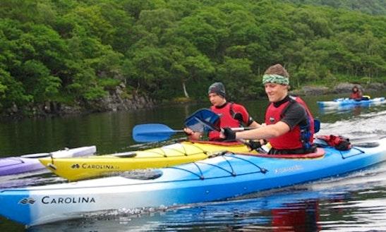 Kayaking In Ayrshire And Scotland