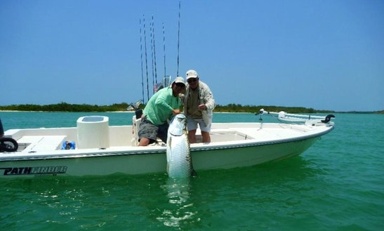 Enjoy 20 Ft Pathfinder Fishing Charter In Naples, Florida