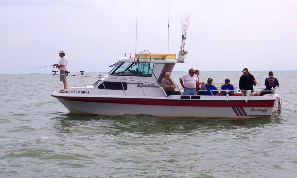 """30ft """"Deep Spin"""" Sport Fishing Trips in Carroll Township, Ohio"""