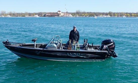 20' Fishing Trips Charter In Saint Clair Shores