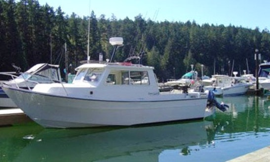 23' Cuddy Cabin Fishing Trips In Metchosin, Canada