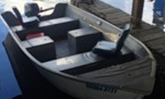 14ft Dinghy Rental In Innisfil, Canada