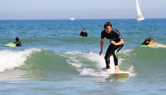 Surfing Lessons In Hendaye