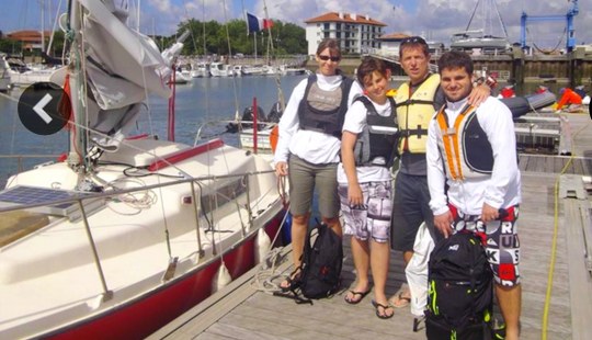 Daysailer Trips & Lessons In Hendaye, France