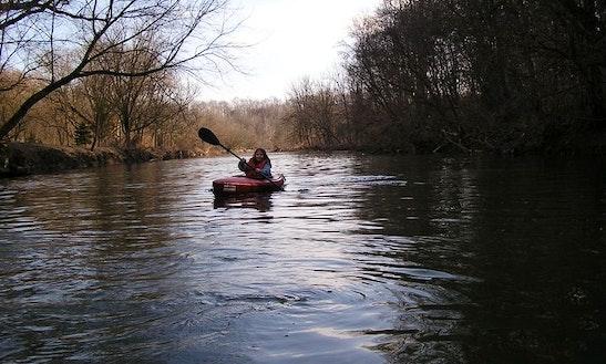 Single Kayak Rental & Tours In Newlin Township